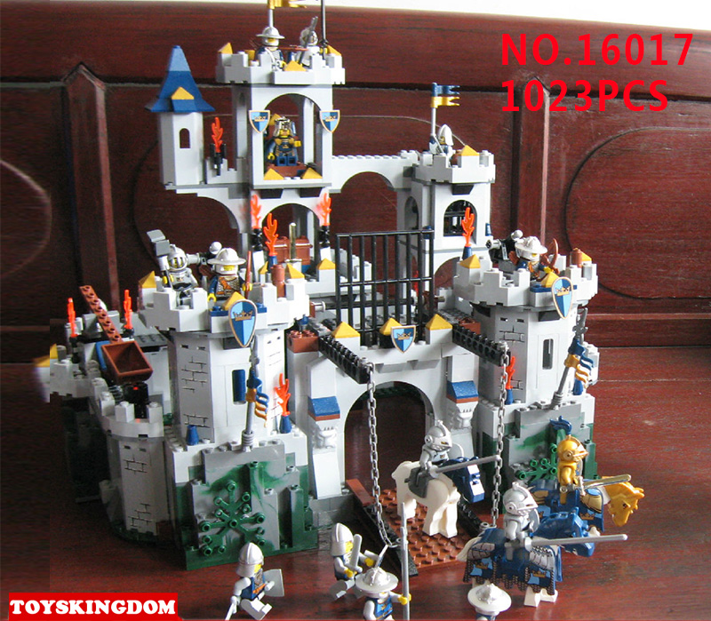 Classic movie series king Castle Siege review building block mini ghost archer figures dark Fiery dragon lepine bricks 7094 toys movie series king castle battle siege set model building block bricks toys compatible legoings city castle 7094