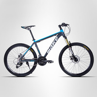 26x17 Inches Bicycles Aluminum Alloy 27 30 Speed Soft Tail Frame Non Folding Mountain Bike Bikes