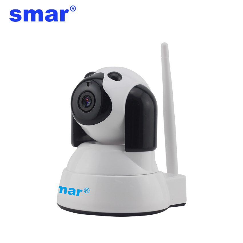 Smar 720P HD Wifi IP Camera Network Wireless Surveillance Home Security P2P CCTV Camera Wireless Onvif Camera with Two-way Audio annke 720p hd wifi camera network port surveillance night camera indoor home p2p cctv camera wifi function onvif two way audio