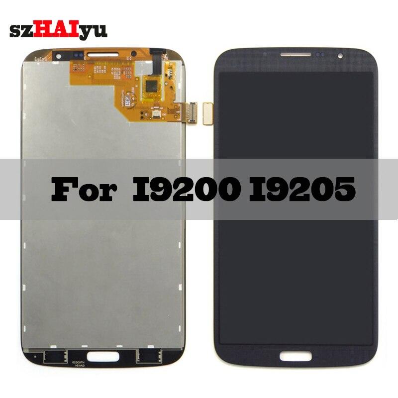 SZHAIYU Touch Screen Digitizer For Samsung Galaxy Mega 6.3 i9200 i9205 LCD Display 1280x720 6.3 TFT LCDSZHAIYU Touch Screen Digitizer For Samsung Galaxy Mega 6.3 i9200 i9205 LCD Display 1280x720 6.3 TFT LCD