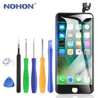 NOHON LCD Screen Assembly AAAA For iPhone 6 6S 4.7 Inch Replacement 3D Digitizer Display 3D Force Mobile Phone LCDs Free Tools
