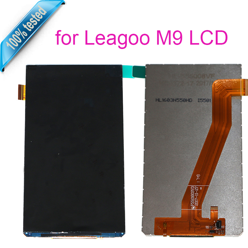 For Leagoo M9 LCD Display Mobile Phone Parts For Leagoo M9 Screen LCD Display Digitier Free Tools