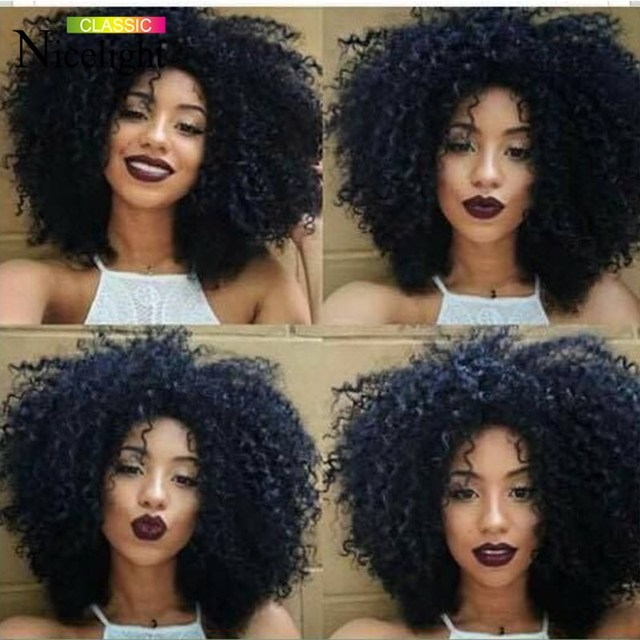 Aliexpress Hair Malaysian Curly Virgin Hair Afro Kinky Curly Human