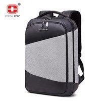 Fashion Back Pack Men Waterproof 15 6 Laptop Backpack Male Brand Large Capacity Back Bag For