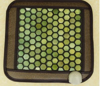ФОТО Jade cushion ms tomalin germanium stone cushion far infrared heating health boss chair cushion foot 45 * 45 cm