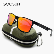 GOOSUN Alloy + Aluminum Magnesium Polarized Sunglasses Men UV400 Sun Glasses Driving Mirror Outdoor Fishing Eyewear oculos 2017