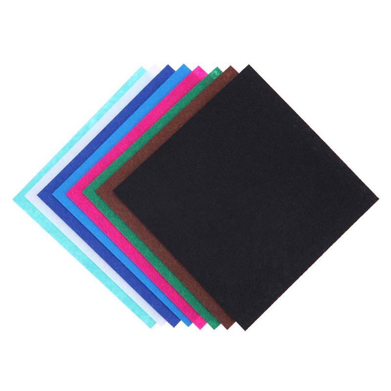 HTB1cC5Wa. rK1Rjy0Fcq6zEvVXa9 40pcs/set Non-Woven Felt Fabric Polyester Cloth Felt Fabric DIY Bundle for Sewing Doll Handmade Craft Thick Home Decor Colorful
