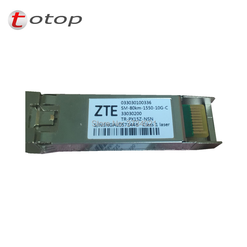 original ZTE SFP model TR-PX15Z-NSN for  10G-1550NM-80KM-C for SC port SFP transceiver compatible with Huweioriginal ZTE SFP model TR-PX15Z-NSN for  10G-1550NM-80KM-C for SC port SFP transceiver compatible with Huwei