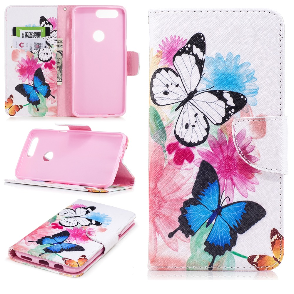 Butterfly Bear Feather Case For coque OnePlus 5T One Plus 5T A5010 Case Funda Etui image