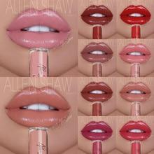 12 color Lip gloss Makeup lasting Red lip cosmetic Women Sexy gloss Silky Moisturizer Nude lip waterproof Liquid Matte Lip gloss цена