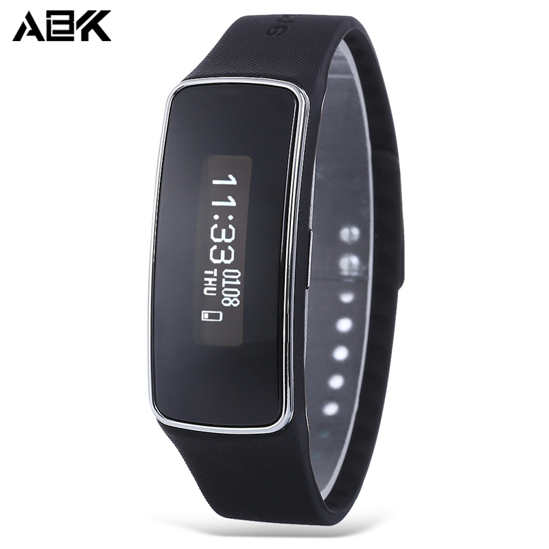 ALBK Bluetooth 4 0 Pedometer Waterproof Health Sleep Monitor Smart Wristband Sedentary Remind Sports Bracelet