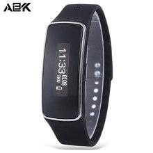 ALBK Bluetooth 4 0 Pedometer Waterproof Health Sleep Monitor Smart Wristband Sedentary Remind Sports Bracelet