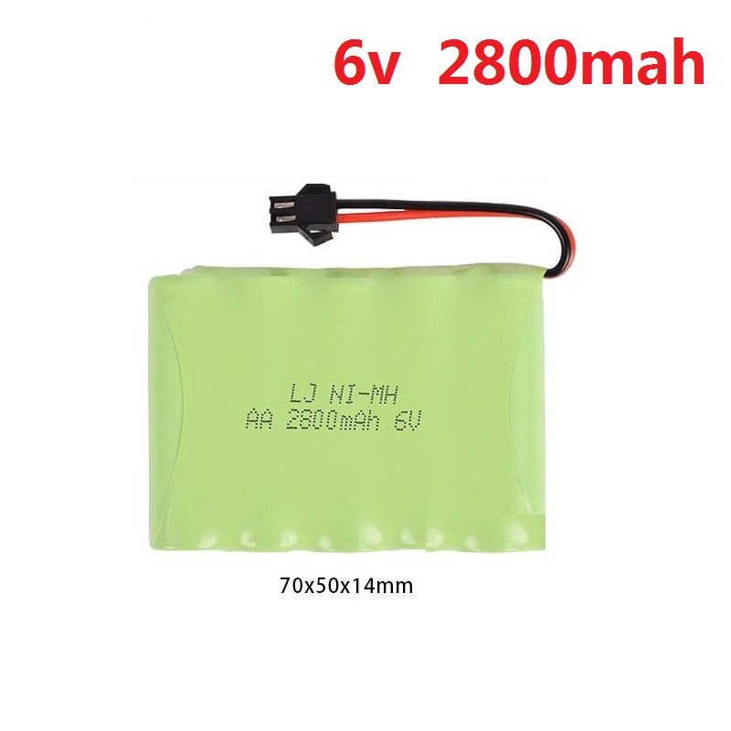 6v 700mah/1800mah/2800mah  M-Style High Capacity AA NI-MH Rechargeable Battery  For Electric Toys/RC Car/RC Truck/RC Boat