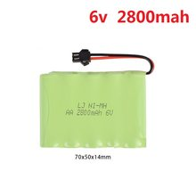 6v 700mah/1800mah/2800mah M-Style High capacity AA NI-MH rechargeable Battery for electric toys/RC car/RC truck/RC boat(China)