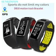 GPS отслеживать движение записи смарт-браслет спортивные группы динамического сердечного ритма шагомер Водонепроницаемый браслет для Iphone 5S 5C 5 SE 4S 4