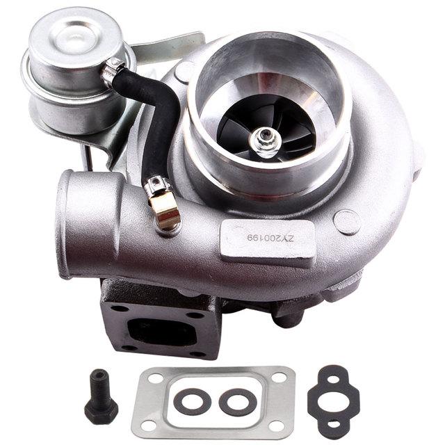 Đa năng GT2871 T28 400 + HP Turbo Tăng Áp Phù Hợp Với 240SX S13/S14 SR20/CA18 0.6 A/R năm 0.64 MỘT/R 5 Bu Lông Bích