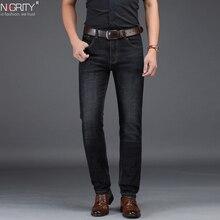 NIGRITY jean pour hommes, pantalon Business classique de loisirs, style basique, pantalon droit, grande taille 29 42, nouveauté, collection 2019, offre spéciale