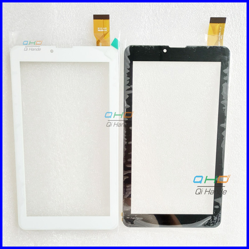 Free shipping 7'' inch touch screen,New for Oysters T72ER 3G touch panel,Tablet PC touch panel digitizer sensor Replacement 7 inch tablet capacitive touch screen replacement for bq 7010g max 3g tablet digitizer external screen sensor free shipping