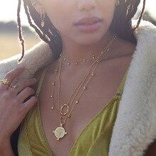 Silvology collier de perles en argent Sterling 925, collier goutte deau, créatif, Super Texture, élégant, bijoux en argent 925