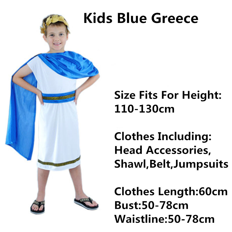 41b51a556 2018 Women Men Boys Girls Ancient Greek Goddess Cosplay Costume Adults  Carnival Costumes Halloween Party Dress Decor Purim-in Boys Costumes From  Novelty .