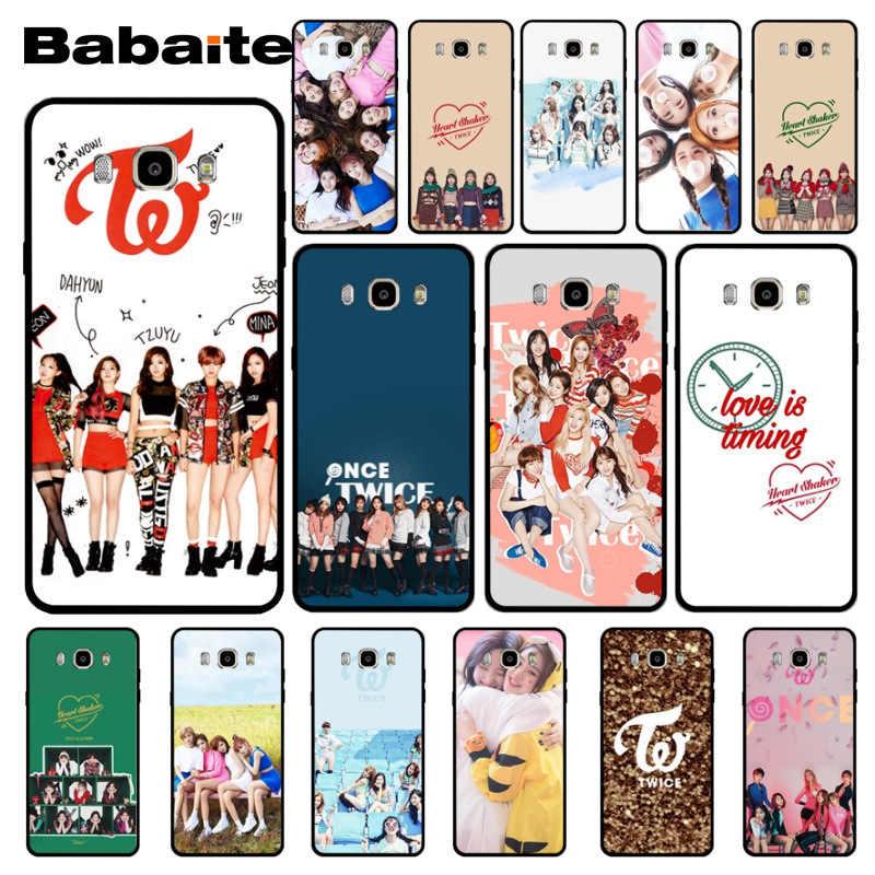 Babaite HAI LẦN Ban Nhạc 2018 Mới Sang Trọng thời trang điện thoại di động trường hợp đối với samsung j7 note8 note9 j2pro j6 j8 trường hợp coque