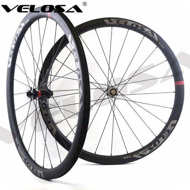 2744d173044 Velosa CX30 Road Disc Brake carbon wheels