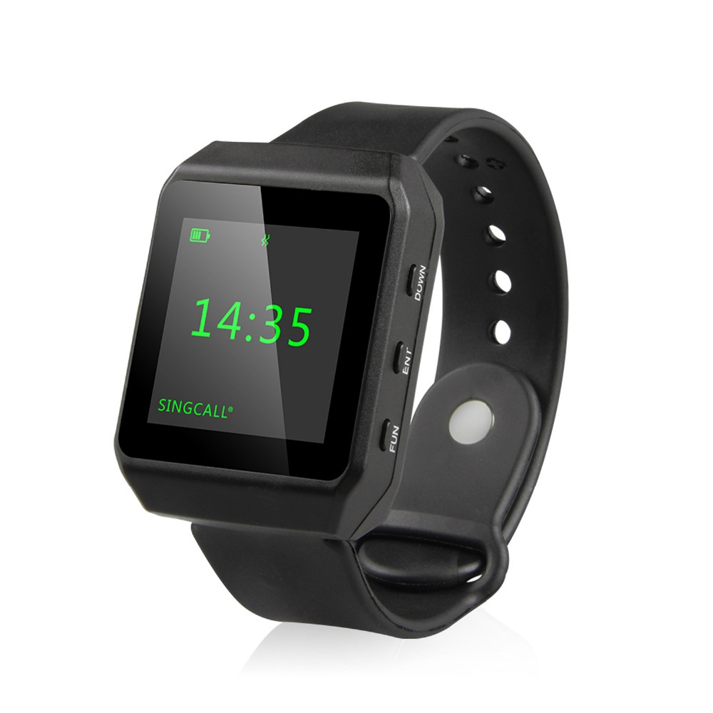 SINGCALL Wireless Calling System font b Smart b font Mobile Receiver New Generation font b Watch