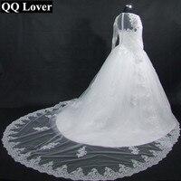 2017 New Dubai Elegant Long Sleeves A Line Wedding Dresses Sheer Crew Neck Lace Appliques Beaded