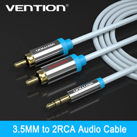 Vention Rca Jack Cable 2 Rca Male To 3 5 Male Audio Cable 2m 3m 5m