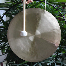 "10"" wind gong with free mallet Chinese traditional gong"