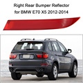 Right Rear Bumper Red Lens Reflector Fog Warn Light 63147240998 for BMW E70 X5 2012-2014