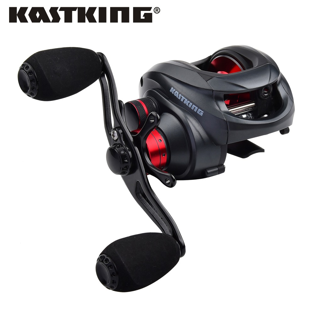 KastKing New Spartacus High Speed 6.3:1 Baitcasting Reel 10+1 BBs Drag Power 8KG/17.5lb Right Left Hand FIshing Reel kastking spartacus low profil baitcasting reel 12 ball bearings 205g right hand left hand fishing reel