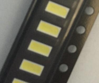 Бесплатная доставка 50 шт./лот <font><b>4020</b></font> SMD <font><b>LED</b></font> Бусины Холодный белый 1 Вт 6 В 150ma для ТВ/ЖК-дисплей Подсветка Лучшие качество.