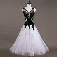 ballroom competition dress ballroom tango dresses standard ballroom waltz dresses ballroom dancing dress grey black red q037