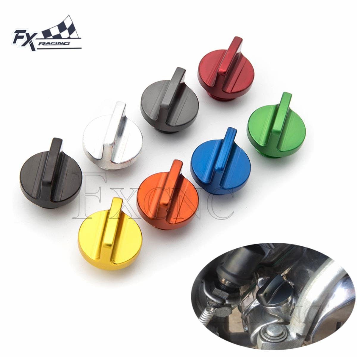 M20*2.5mm Oil Filler Cap Plug For Honda CR CRF 125R 150R 250R 450R CB600F CBF600 CBF1000 For Yamaha YZ 65 80 125/X 250/X YZ250F