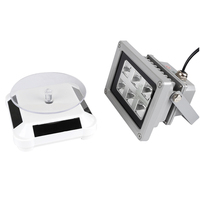 Sla Dlp3D Printing Post Processing Solar Rotating Disk Display Stand +60W Photosensitive Resin Curing Lamp(US Plug)