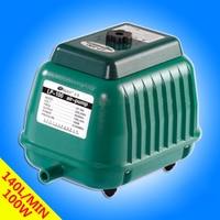 140L Min RESUN LP 100 Low Noise Aquarium Air Pump For Koi Fish Septic Tank Oxygen