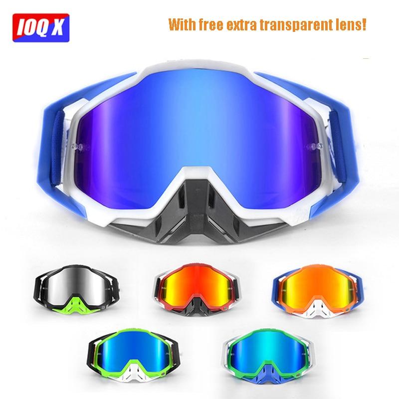 b399b06a76711 Original IOQX Nova Chegada Óculos De Motocross ATV Casque 100% IOQX Óculos  de Proteção Da
