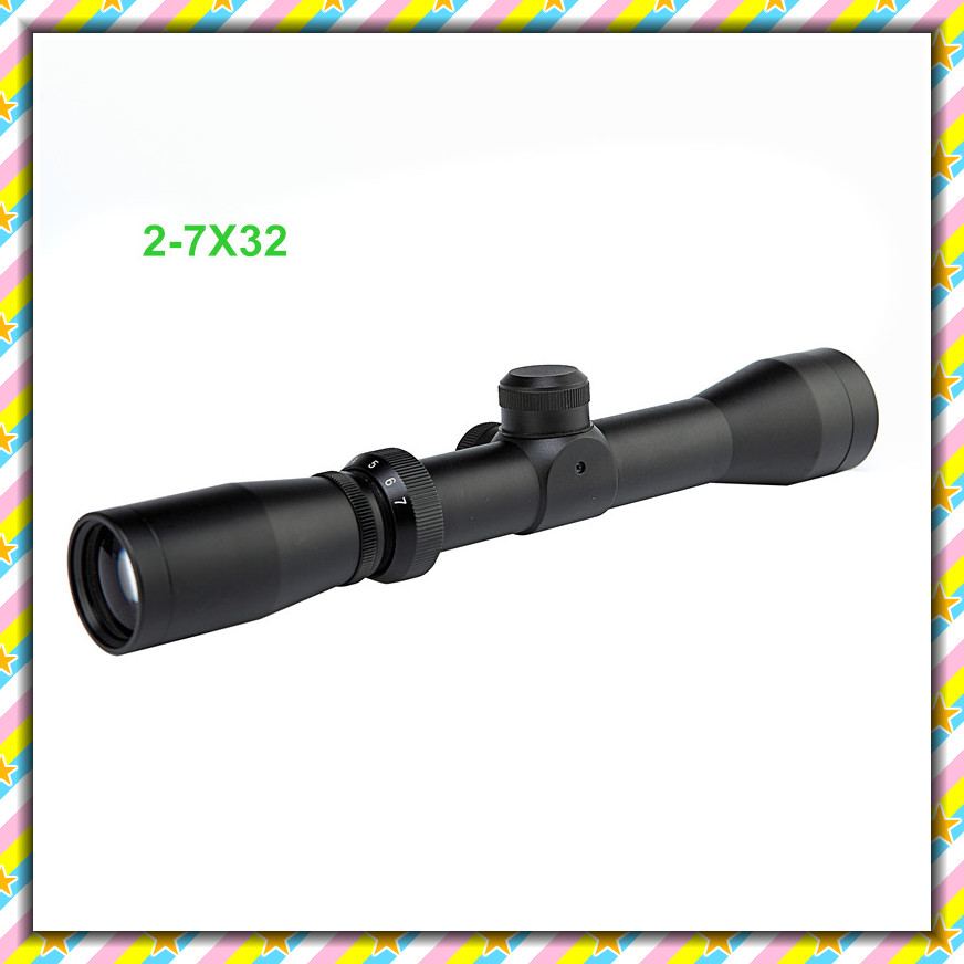 Здесь продается  Free shipping New 2-7x32 AO Outdoor Sports Riflescope Outing Tactical Hunting Rifle Scope  Спорт и развлечения