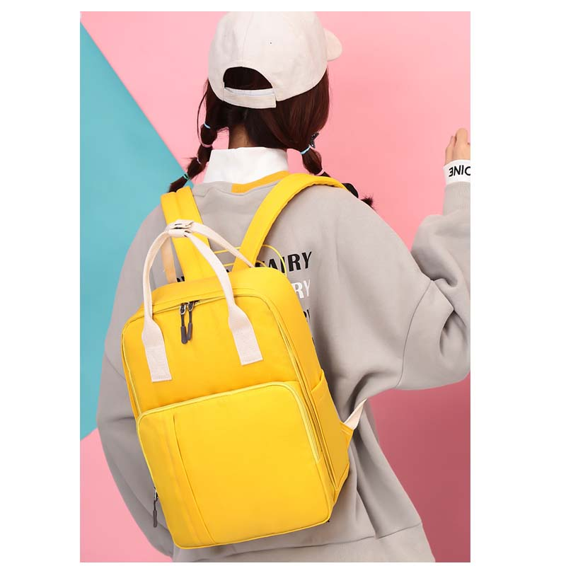 New bag fashion Mummy bag multi-function backpack waterproof maternal bag ladies backpack baby out care package travel bag