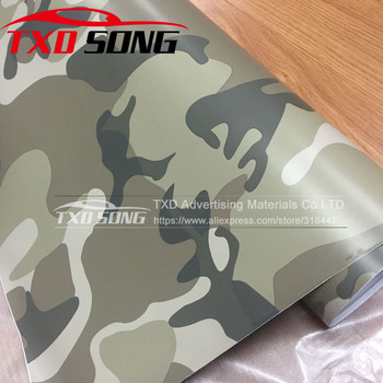 10/20/30/40/50/60X152CM Desert Camouflage Vinyl sticker for car wrapping film Desert camouflage car wrap film by free shipping image