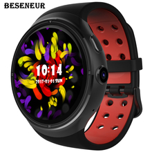 Beseneur Z10 Smart Watch Android 5.1 Wrist Phone MTK6580 1GB+16GB Heart Rate Monitor Smartwatch with 2.0 MP Camera For Men Women