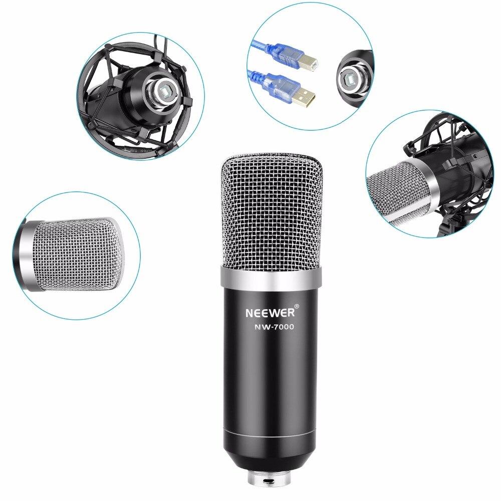 Neewer NW 7000 usb mic para windows