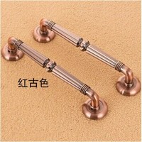 Free Shipping 310mm High Quality Antique Zinc Alloy Ktv Office Hotel Home Wood Glass Door