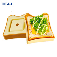 Creative Kitchen Tools DIY Sandwich Mold Plastic Cake Mold Toast Bread Tools Making Mould Cutter Sandwiches