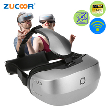 All-In-One 3D VR BOX Deepoon M2 Virtual Reality 360 Degree Immersive Glasses Game Video Wifi Bluetooth Headmount Helmet Case