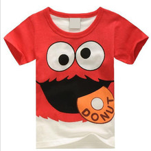 Kids T-shirts Boys Girls Cartoon Graphic Short Sleeve Cotton Tops Tees Casual Clothing for Children