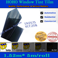 Hoho car window film car solar film with tinting film from 5% to 70% light tansmittance
