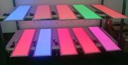 Darmowa wysyłka wysokiej jakości kolor RGB 300X1200mm 36 W LED Panel światła z 24key pilot zdalnego sterowania AC85-265V dobry chipy LED
