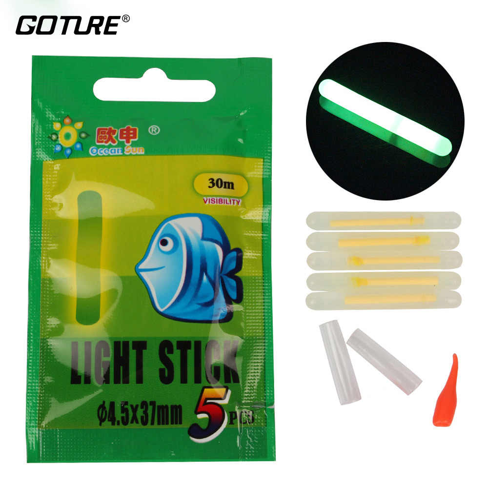 Stick Fishing Light Sticks Glow Luminous Night Float Bobber 100pcs High quality
